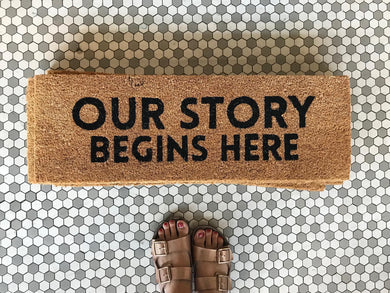 Our Story - Doormat