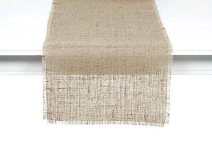 Burlap Natural Table Runner
