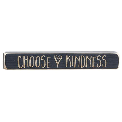 Choose Kindness Block Sign