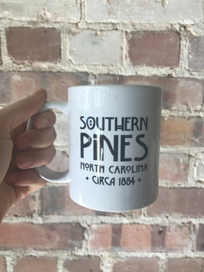 Southern Pines Location Mug