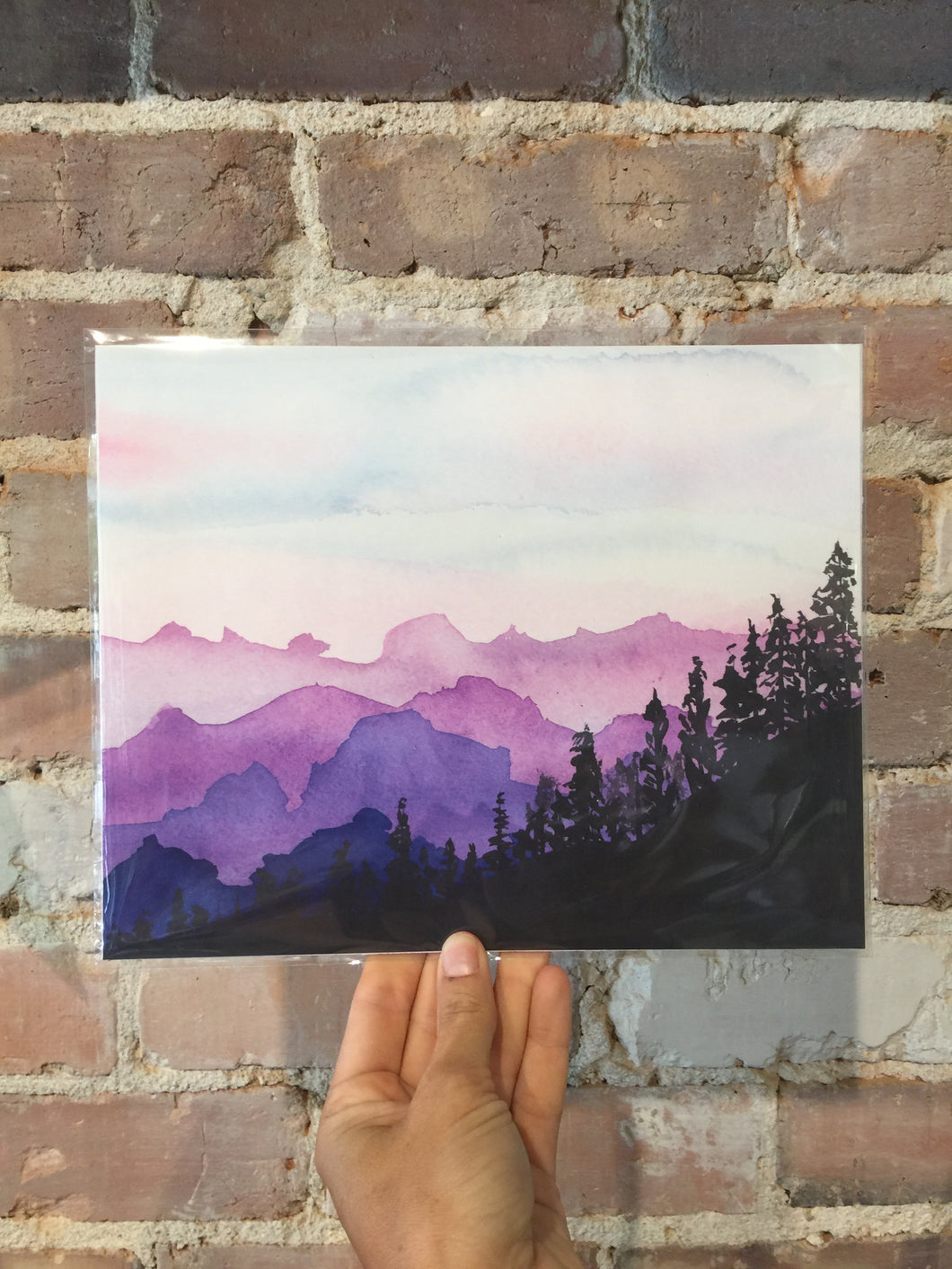 Blue Ridge Mnt Print - 11