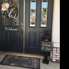 Load image into Gallery viewer, Welcome - Vinyl Door Decal