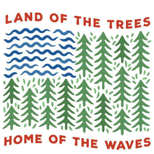 Land of the Trees Sticker