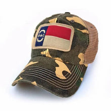 Load image into Gallery viewer, NC Flag Patch Hat