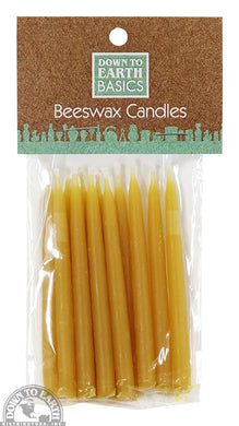 Beeswax Bday Candles - Pk 12