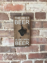Load image into Gallery viewer, Wall Mounted Bottle Opener