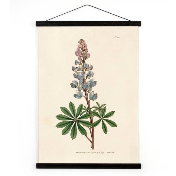 Botanical Bluebonnet Canvas Wall Hanging - 13
