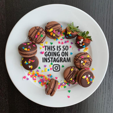This is So Going on Instagram Plate