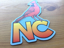 Load image into Gallery viewer, NC Cardinal Sticker