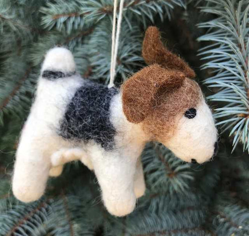 Felt Ornament - Dog