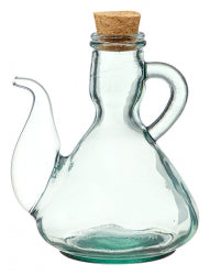 Recycled Glass Cruet with Spout