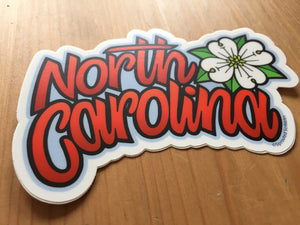 NC Dogwood Sticker
