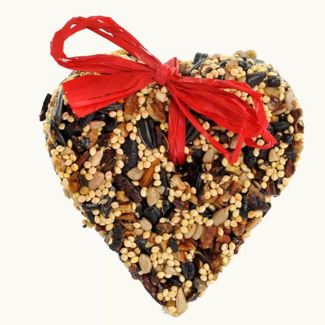 Mini Birdseed Heart