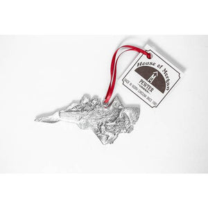 NC State Symbols - Pewter Ornament