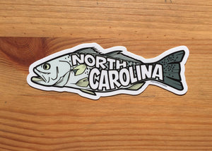 NC Fish Sticker