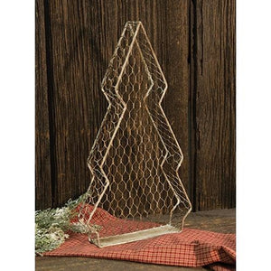 Chicken Wire Tree Tray