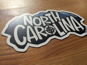 NC Mountain Sticker