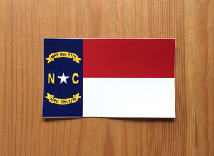 NC Flag Sticker