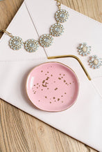 Load image into Gallery viewer, Pink Trinket Dish