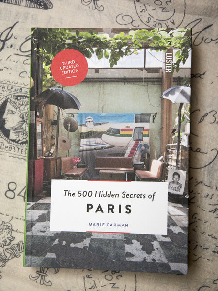 500 Hidden Secrets of Paris Book