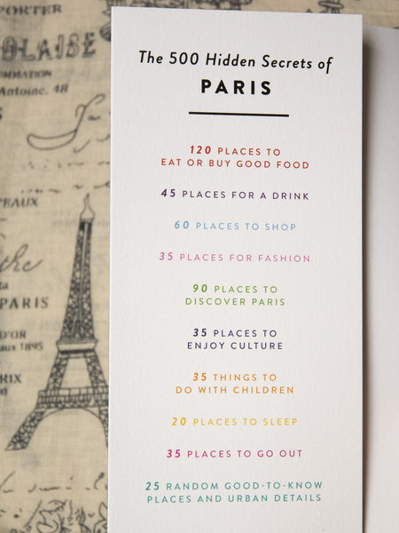500 Hidden Secrets of Paris