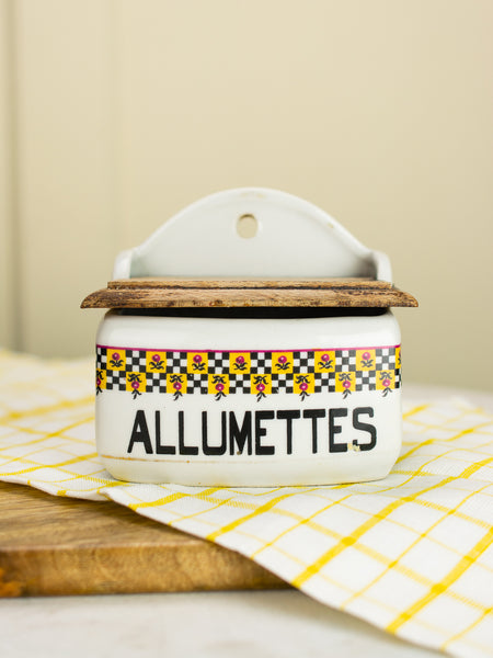 Vintage French Allumettes Box