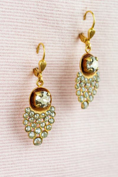 Amelie Crystal Earrings