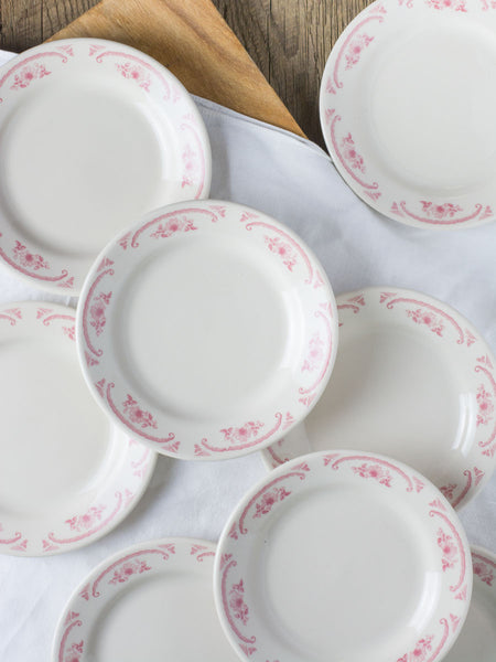 American Rose Appetizer Plates - Set of 4
