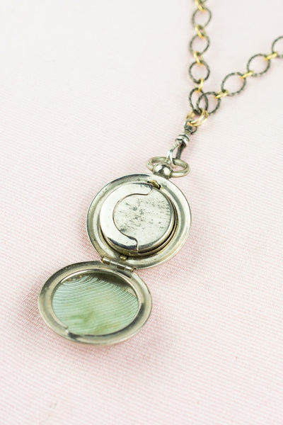 Antique 1800's Sovereign Coin Holder Locket