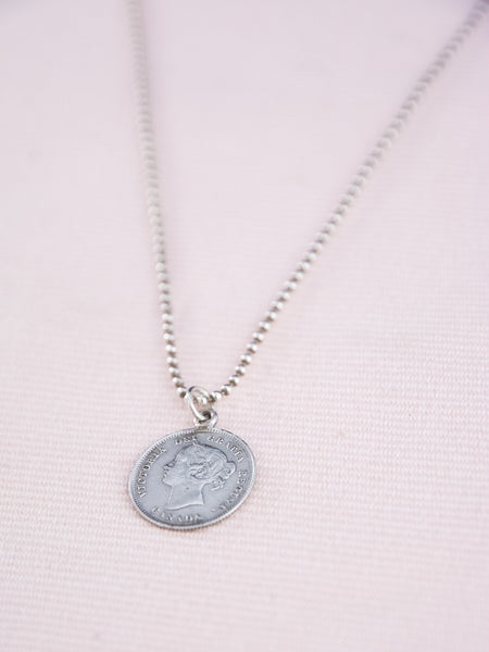 Antique Love Token Necklace