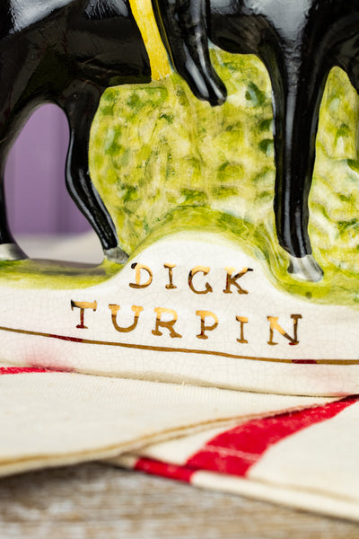 Antique Staffordshire Dick Turpin Figure
