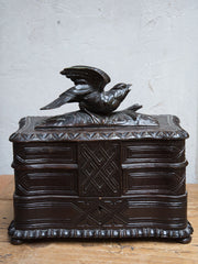 Antique French Fôret Noir Jewelry Box