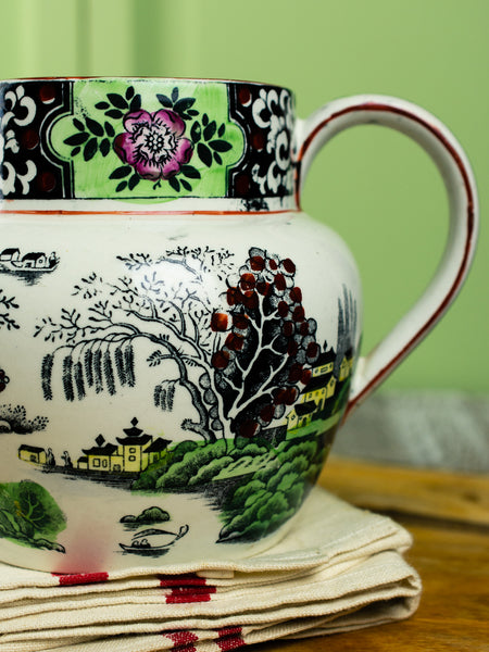 Antique English Ming Pitcher