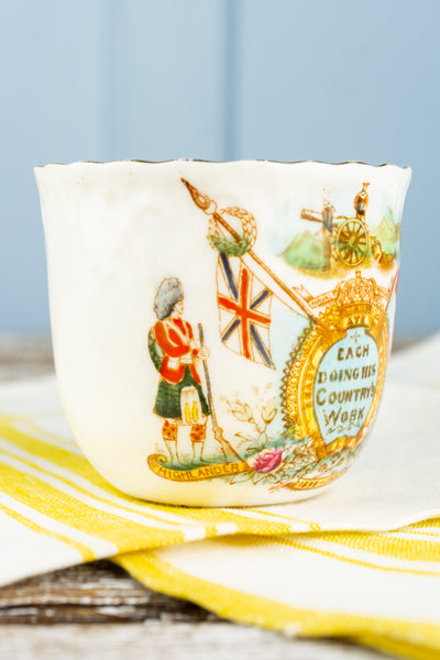Antique British Boer War 1899-1900 Commemorative Cup and Saucer