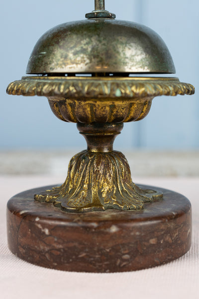 Antique French Hotel Bell