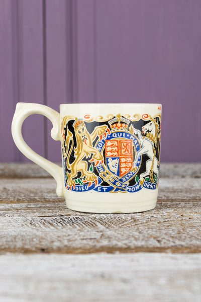 Vintage King Edward VIII Coronation Mug