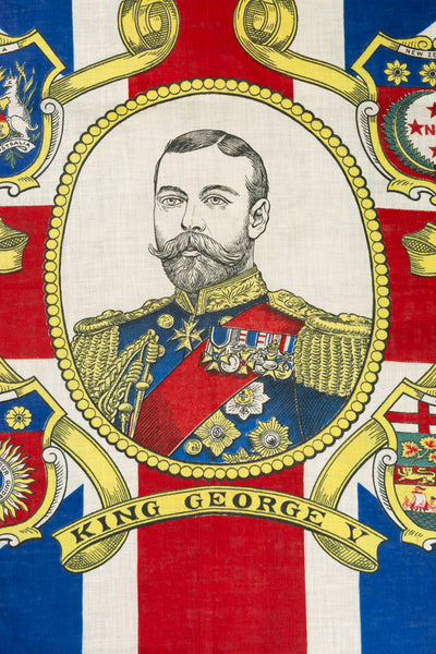Antique King George V 1911 Coronation Flag
