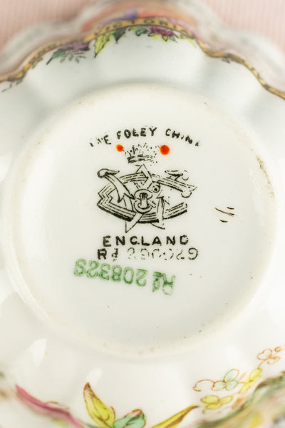Antique Queen Victoria 1897 Diamond Jubilee Cup and Saucer
