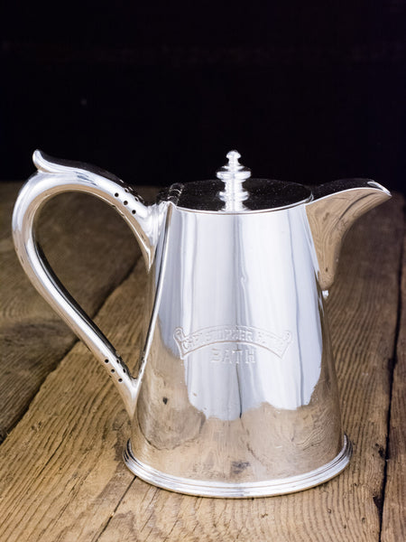 Antique Silverplate Christopher Hotel Teapot