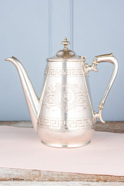 Antique Clyde Shipping Company Coffeepot