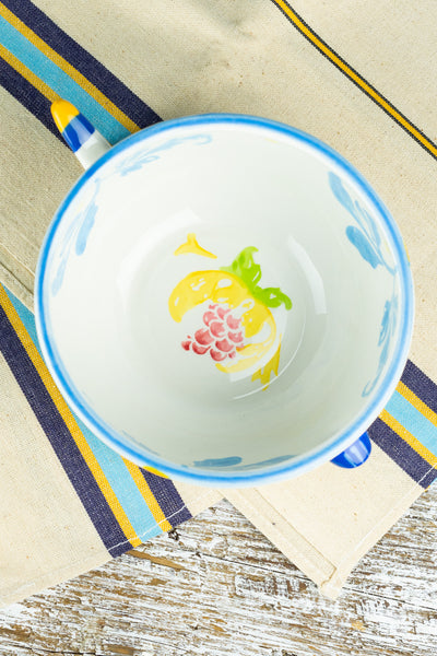 Baci Ceramic Fish Serving Bowl