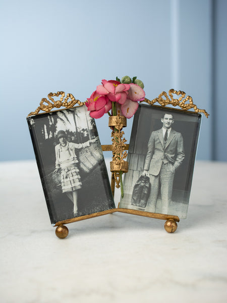 Belle Epoque Double Picture Frame