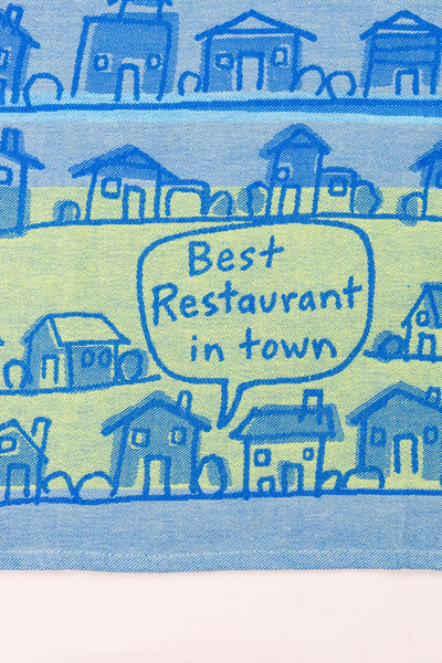 Best Restaurant in Town Tea Towel