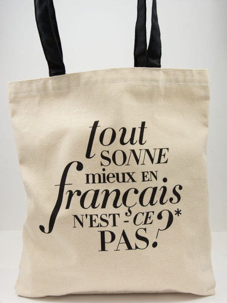 Better in French Tote
