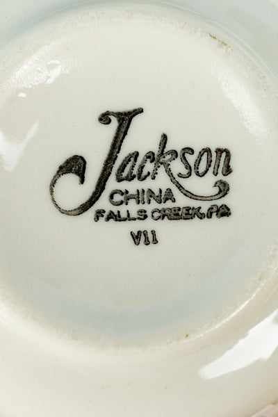 Vintage Jackson China Clifton Grey Bouillon Cup