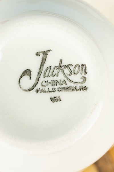 Vintage Jackson China Clifton Grey Creamer