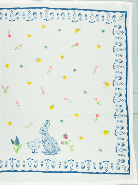 Bunny & Chick Flour Sack Towels - Set of 2