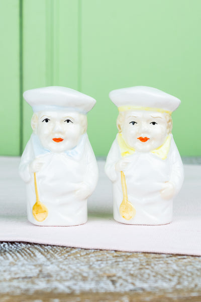 Happy Chef Salt & Pepper Shakers