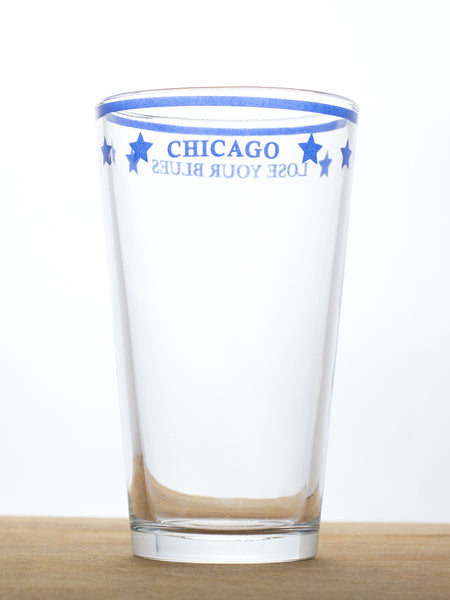 Chicago Lose Your Blues Glass - set of 2