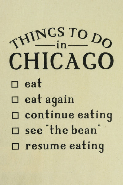 Things To Do In Chicago Tote